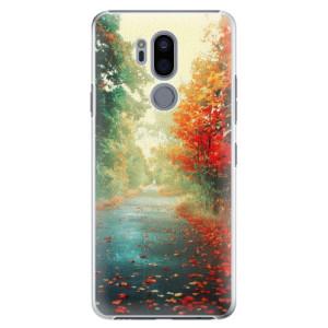 Plastové pouzdro iSaprio Podzim 03 na mobil LG G7