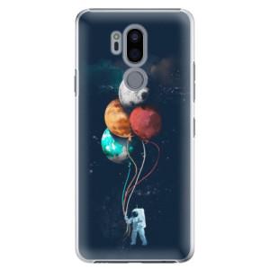Plastové pouzdro iSaprio Balónky 02 na mobil LG G7