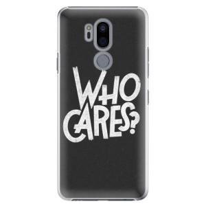 Plastové pouzdro iSaprio Who Cares na mobil LG G7