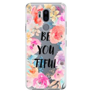 Plastové pouzdro iSaprio BeYouTiful na mobil LG G7