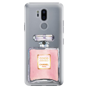 Plastové pouzdro iSaprio Chanel Rose na mobil LG G7