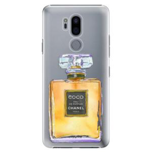 Plastové pouzdro iSaprio Chanel Gold na mobil LG G7