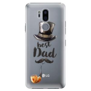 Plastové pouzdro iSaprio Best Dad na mobil LG G7