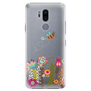Plastové pouzdro iSaprio Včelka Pája 01 na mobil LG G7