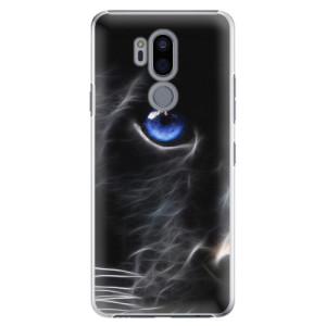 Plastové pouzdro iSaprio Black Puma na mobil LG G7