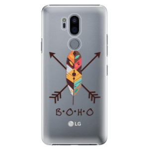 Plastové pouzdro iSaprio BOHO na mobil LG G7