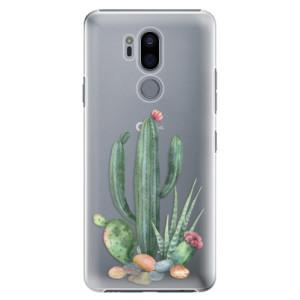 Plastové pouzdro iSaprio Kaktusy 02 na mobil LG G7