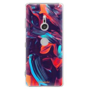 Plastové pouzdro iSaprio Barevný mramor 19 na mobil Sony Xperia XZ3