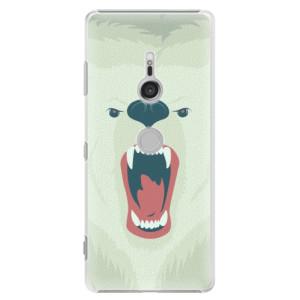 Plastové pouzdro iSaprio Naštvanej Medvěd na mobil Sony Xperia XZ3
