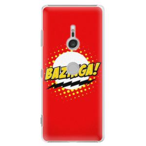 Plastové pouzdro iSaprio Bazinga 01 na mobil Sony Xperia XZ3