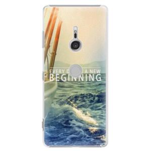 Plastové pouzdro iSaprio Beginning na mobil Sony Xperia XZ3