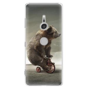 Plastové pouzdro iSaprio Medvěd 01 na mobil Sony Xperia XZ3