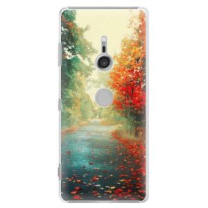 Plastové pouzdro iSaprio Podzim 03 na mobil Sony Xperia XZ3