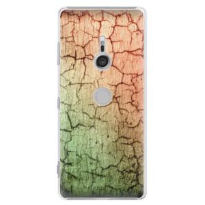 Plastové pouzdro iSaprio Rozpraskaná Zeď 01 na mobil Sony Xperia XZ3