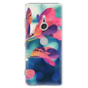 Plastové pouzdro iSaprio Podzim 01 na mobil Sony Xperia XZ3