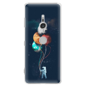 Plastové pouzdro iSaprio Balónky 02 na mobil Sony Xperia XZ3