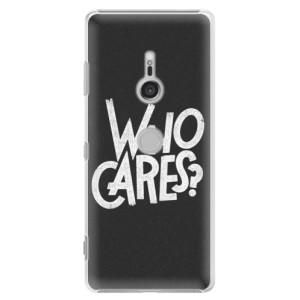 Plastové pouzdro iSaprio Who Cares na mobil Sony Xperia XZ3