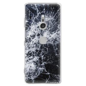 Plastové pouzdro iSaprio Praskliny na mobil Sony Xperia XZ3