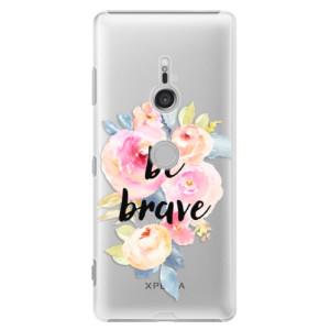 Plastové pouzdro iSaprio Be Brave na mobil Sony Xperia XZ3