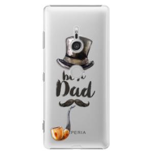 Plastové pouzdro iSaprio Best Dad na mobil Sony Xperia XZ3