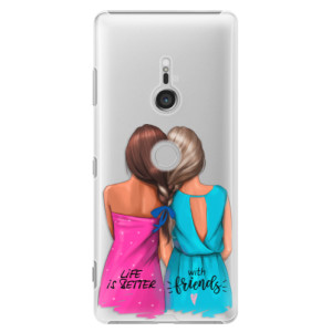 Plastové pouzdro iSaprio Best Friends na mobil Sony Xperia XZ3