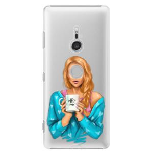Plastové pouzdro iSaprio Coffee Now Zrzka na mobil Sony Xperia XZ3