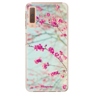 Plastové pouzdro iSaprio Blossom 01 na mobil Samsung Galaxy A7 (2018)
