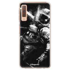 Plastové pouzdro iSaprio Astronaut 02 na mobil Samsung Galaxy A7 (2018)