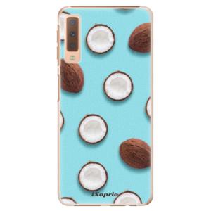 Plastové pouzdro iSaprio Kokos 01 na mobil Samsung Galaxy A7 (2018)