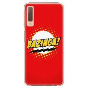 Plastové pouzdro iSaprio Bazinga 01 na mobil Samsung Galaxy A7 (2018)