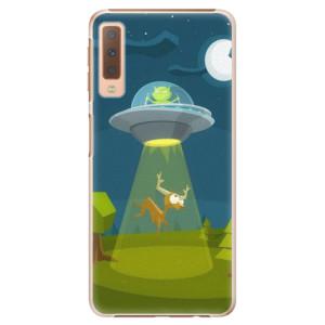 Plastové pouzdro iSaprio Ufouni 01 na mobil Samsung Galaxy A7 (2018)
