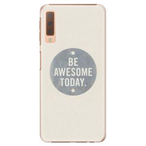 Plastové pouzdro iSaprio Awesome 02 na mobil Samsung Galaxy A7 (2018)