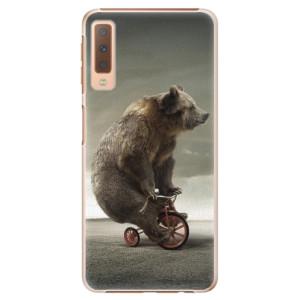 Plastové pouzdro iSaprio Medvěd 01 na mobil Samsung Galaxy A7 (2018)