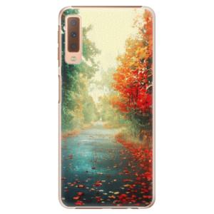 Plastové pouzdro iSaprio Podzim 03 na mobil Samsung Galaxy A7 (2018)