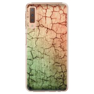 Plastové pouzdro iSaprio Rozpraskaná Zeď 01 na mobil Samsung Galaxy A7 (2018)