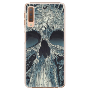 Plastové pouzdro iSaprio Abstract Skull na mobil Samsung Galaxy A7 (2018)