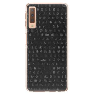 Plastové pouzdro iSaprio Ampersand 01 na mobil Samsung Galaxy A7 (2018)