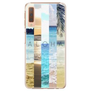 Plastové pouzdro iSaprio Aloha 02 na mobil Samsung Galaxy A7 (2018)