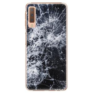 Plastové pouzdro iSaprio Praskliny na mobil Samsung Galaxy A7 (2018)