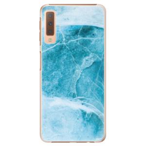Plastové pouzdro iSaprio Blue Marble na mobil Samsung Galaxy A7 (2018)