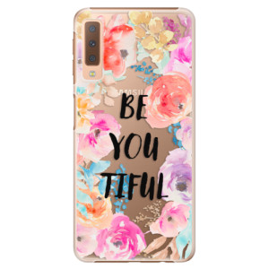 Plastové pouzdro iSaprio BeYouTiful na mobil Samsung Galaxy A7 (2018)