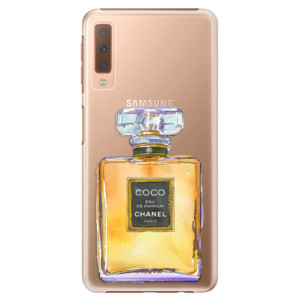 Plastové pouzdro iSaprio Chanel Gold na mobil Samsung Galaxy A7 (2018)