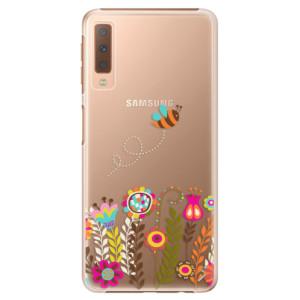 Plastové pouzdro iSaprio Včelka Pája 01 na mobil Samsung Galaxy A7 (2018)