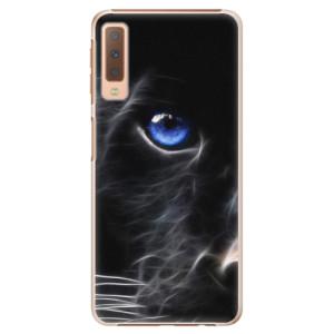 Plastové pouzdro iSaprio Black Puma na mobil Samsung Galaxy A7 (2018)