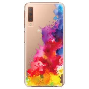 Plastové pouzdro iSaprio Color Splash 01 na mobil Samsung Galaxy A7 (2018)