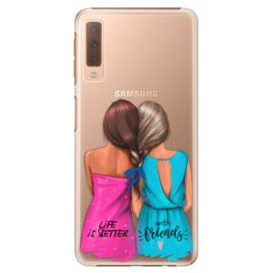 Plastové pouzdro iSaprio Best Friends na mobil Samsung Galaxy A7 (2018)