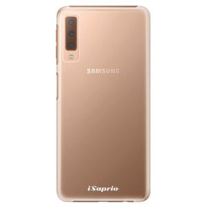 Plastové pouzdro iSaprio 4Pure mléčné bez potisku na mobil Samsung Galaxy A7 (2018)