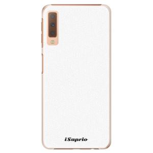Plastové pouzdro iSaprio 4Pure bílé na mobil Samsung Galaxy A7 (2018)