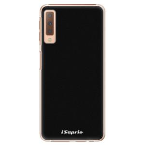 Plastové pouzdro iSaprio 4Pure černé na mobil Samsung Galaxy A7 (2018)