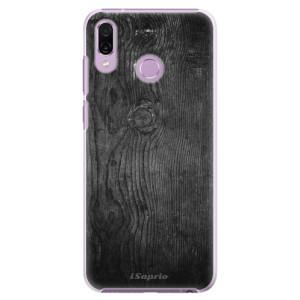Plastové pouzdro iSaprio Black Wood 13 na mobil Honor Play